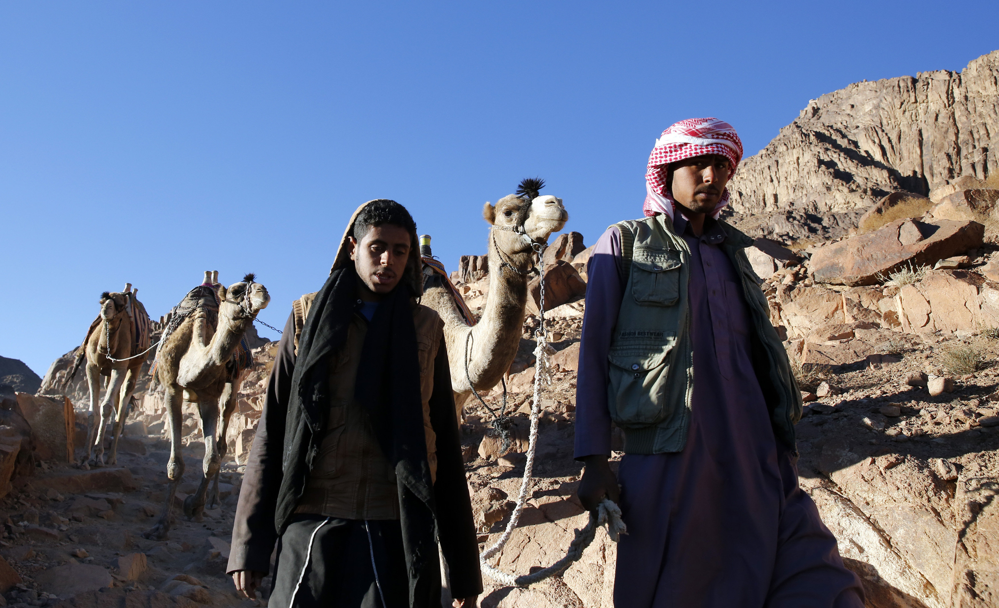 EGYPT TOURISM REUTERSAmrAbdallahDalsh vedouinoi odigoi