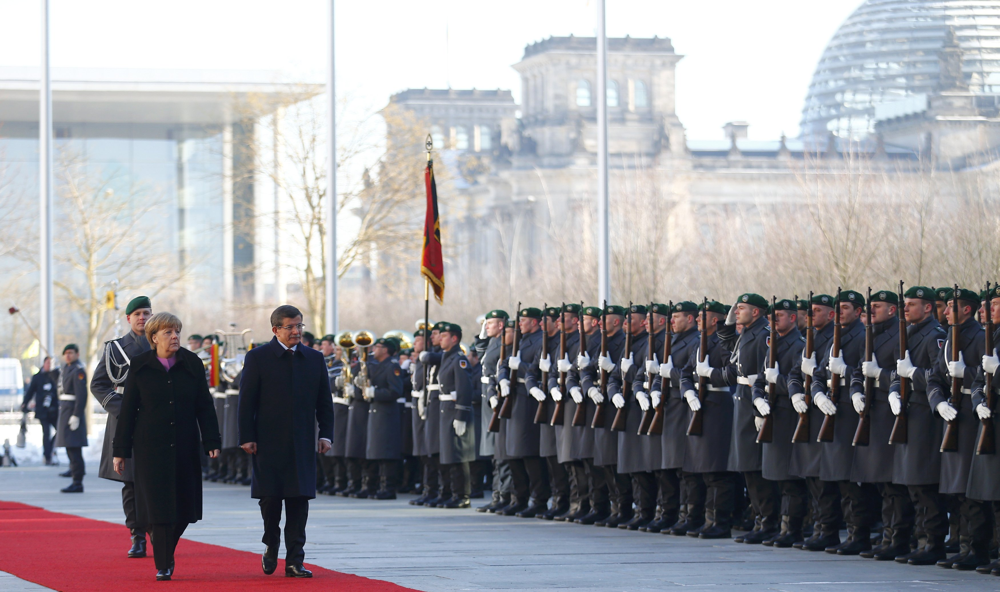 Davutoglu Merkel Berlin 2016 01 22T120306Z 1003479410 LR1EC1M0XGVVH RTRMADP 3 GERMANY TURKEY adam copy