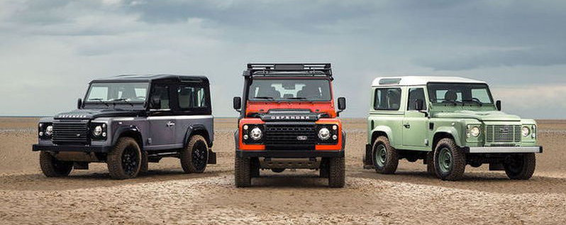 land rover defender final editions 2