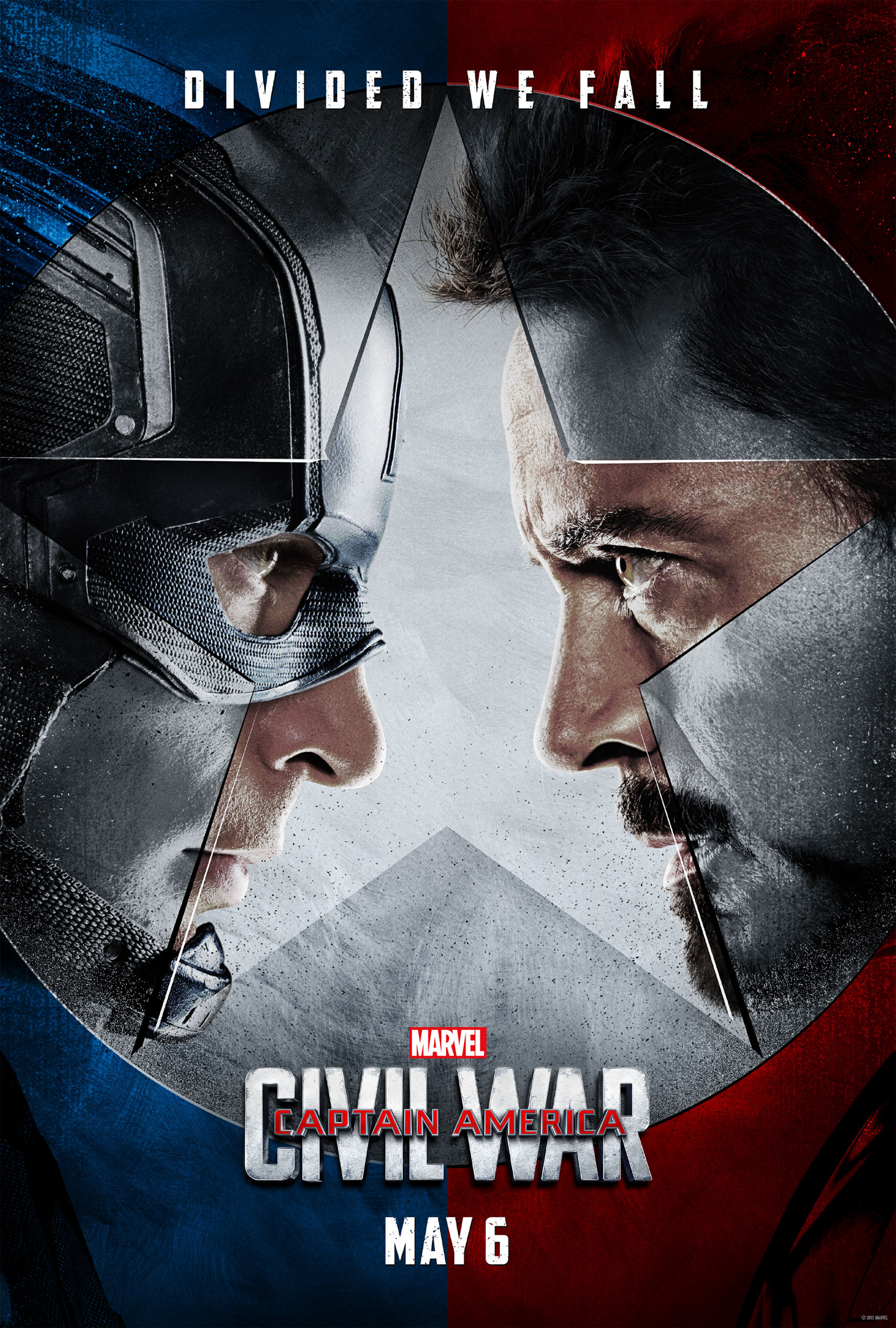 Captain America Civil War Official One Sheet Poster