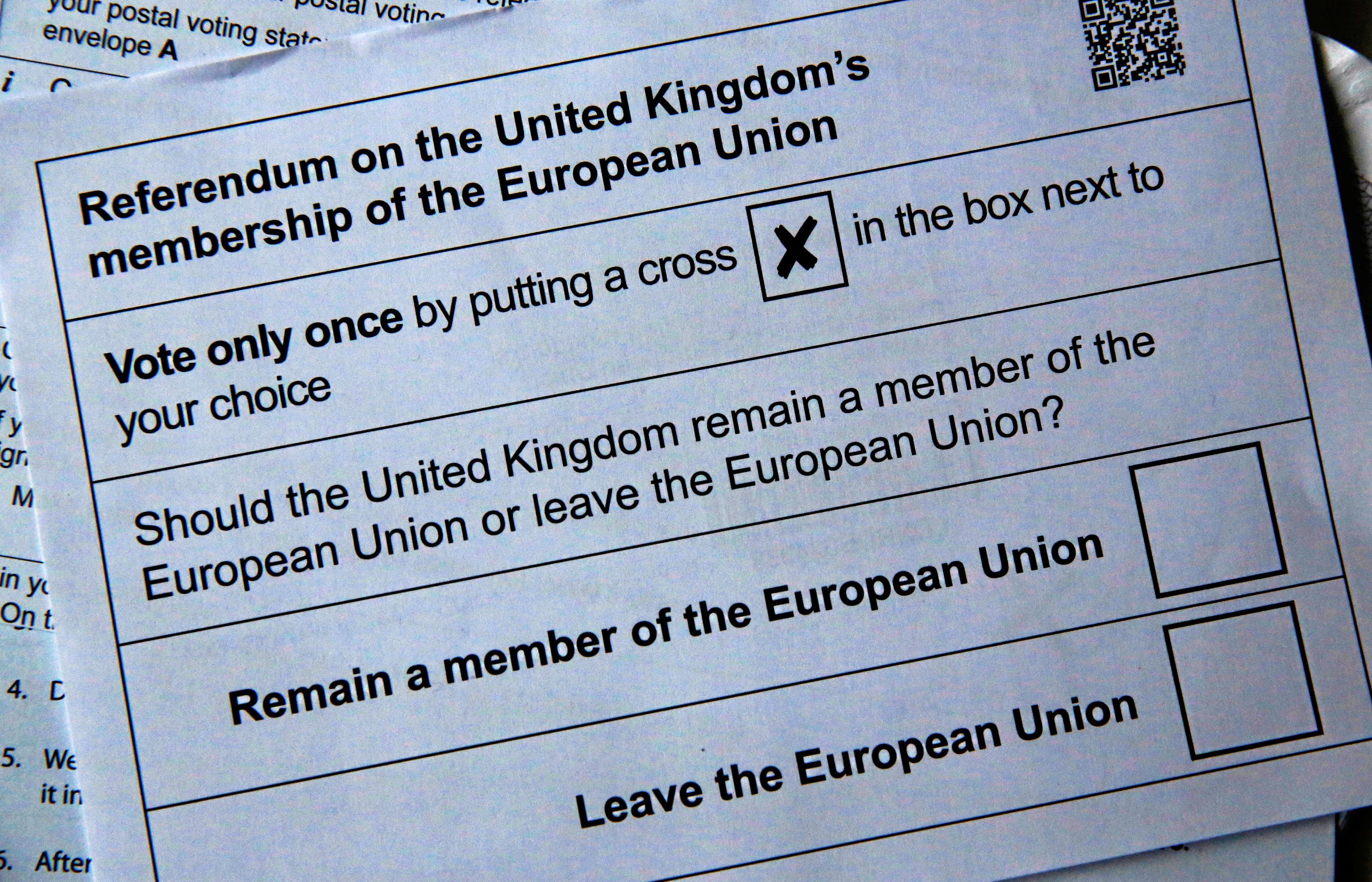 Brexit ballot 2016 06 01T203656Z 418839849 S1AETHLRTOAB RTRMADP 3 BRITAIN EU