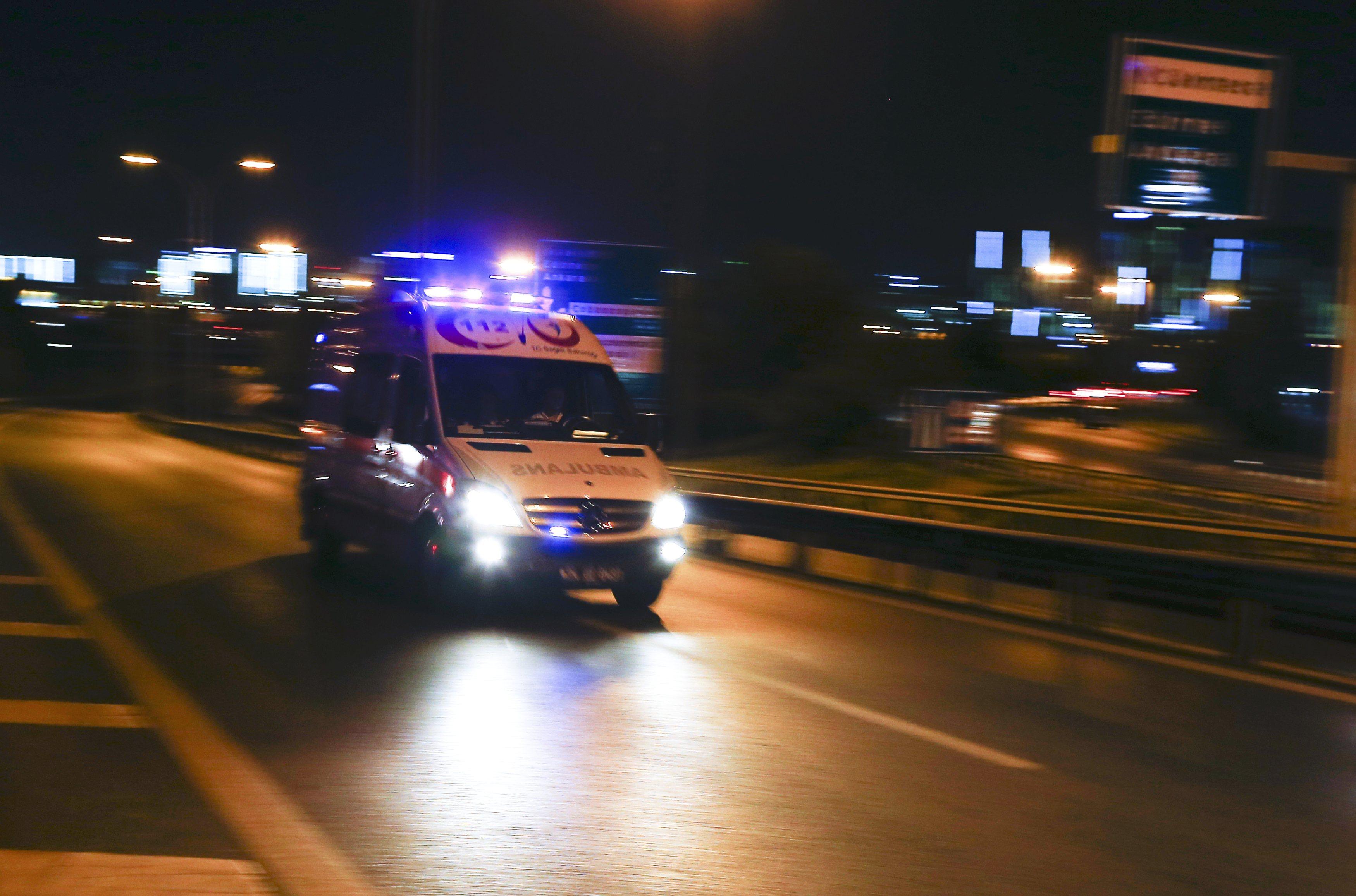 Ataturk ambulance 2016 06 28T195127Z 236574982 LR1EC6S1J5GKC RTRMADP 3 TURKEY BLAST