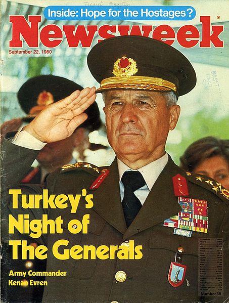 COUP Newsweek 22 Eylül 1980 kapak copy