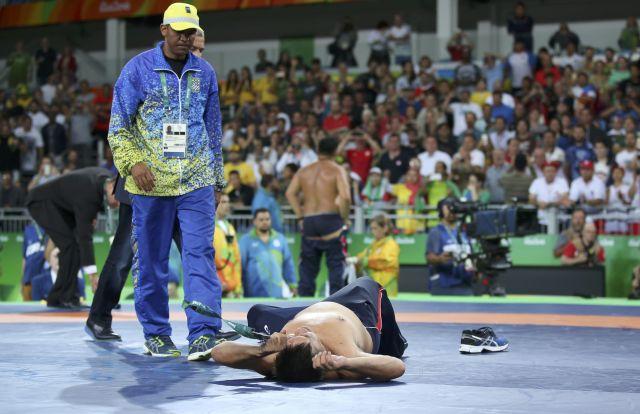 2016 08 21T192055Z 1095096272 RIOEC8L1HQF03 RTRMADP 3 OLYMPICS RIO WRESTLING M FREE 65KG