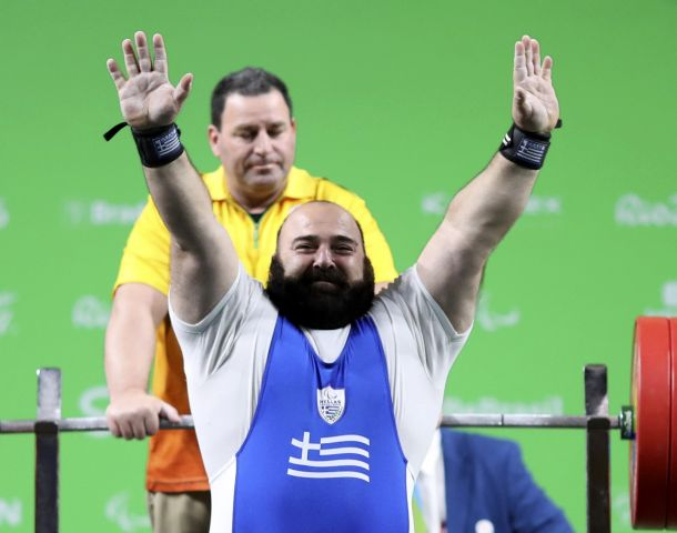 2016 09 14T141750Z 11146769 HT1EC9E13PFVR RTRMADP 3 PARALYMPICS RIO POWERLIFTING