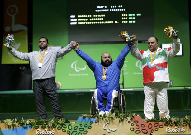 2016 09 14T143948Z 1603725452 HT1EC9E14PXW7 RTRMADP 3 PARALYMPICS RIO POWERLIFTING
