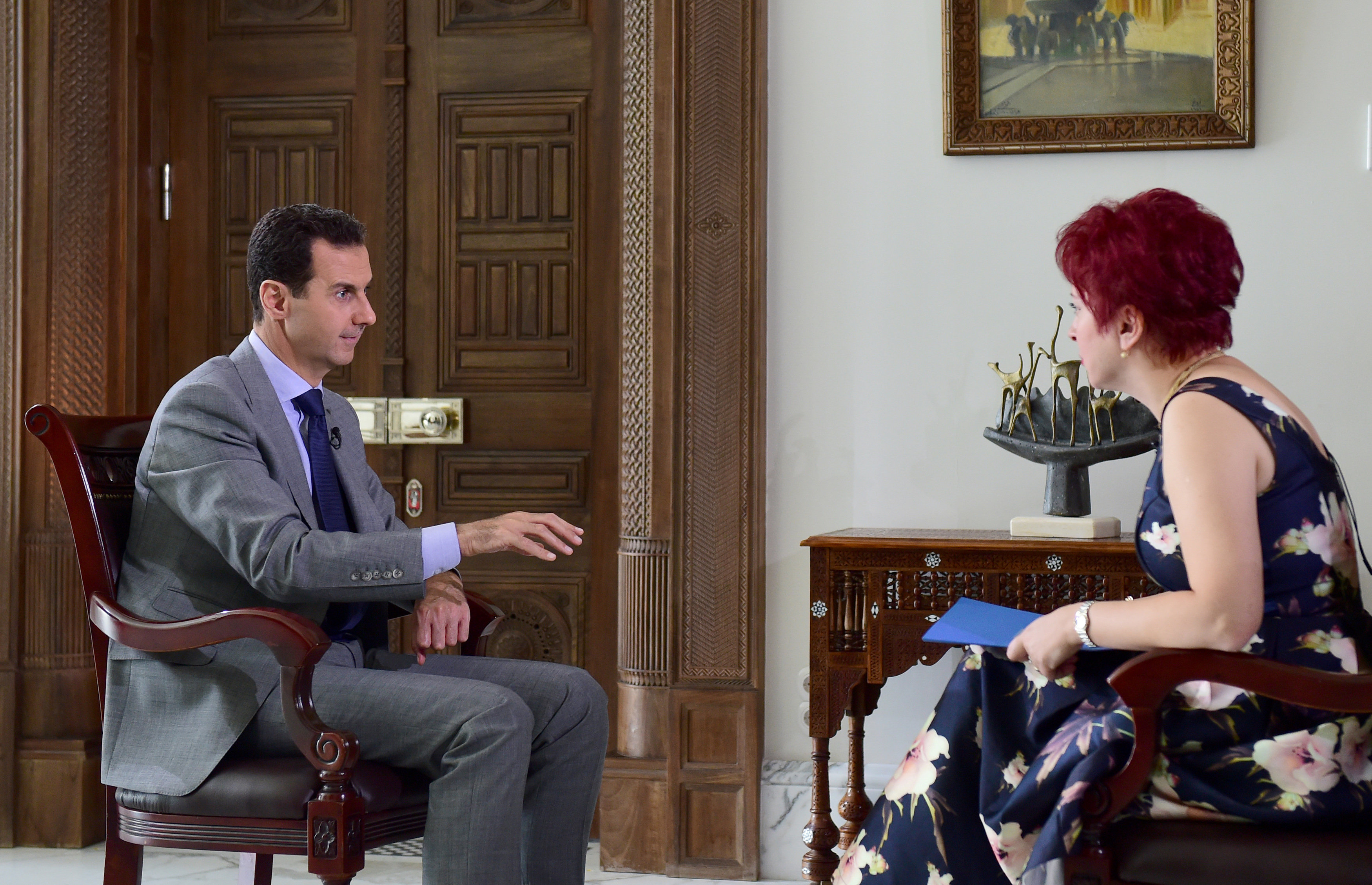 Assad Pravda 2016 10 14T075207Z 1424334789 S1BEUGWSHZAA RTRMADP 3 MIDEAST CRISIS SYRIA ASSAD