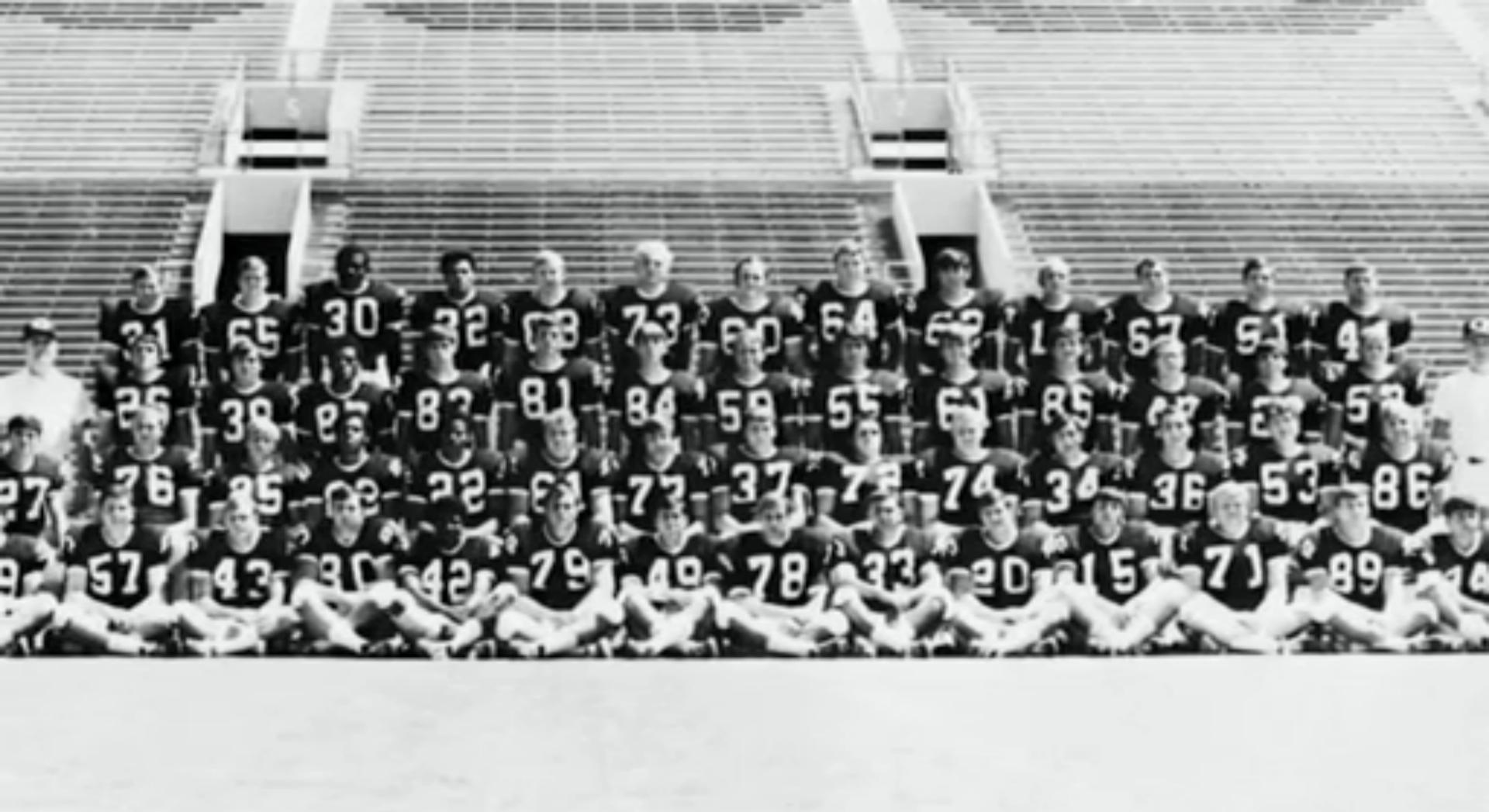 WSU Football 1970