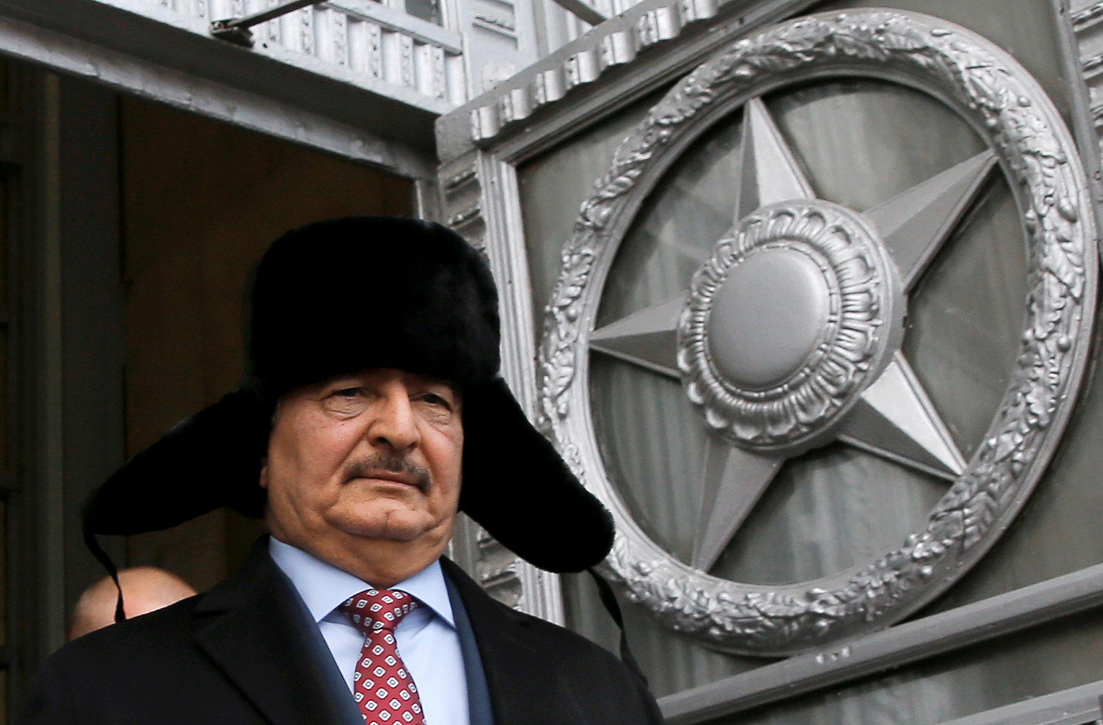 General Haftar Maxim Shemetov