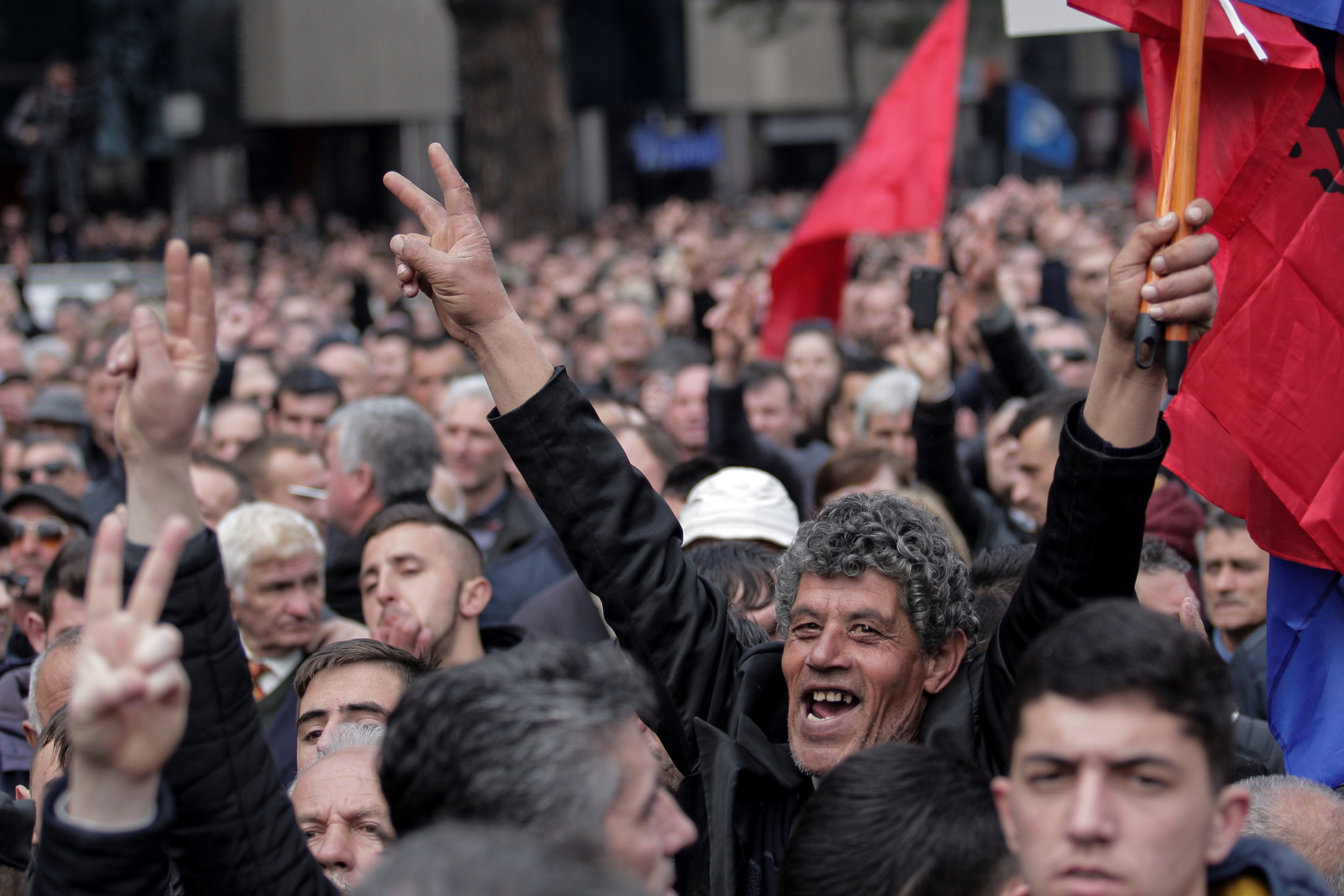2017 02 18T153553Z 1302415741 RC1341114A30 RTRMADP 3 ALBANIA PROTEST