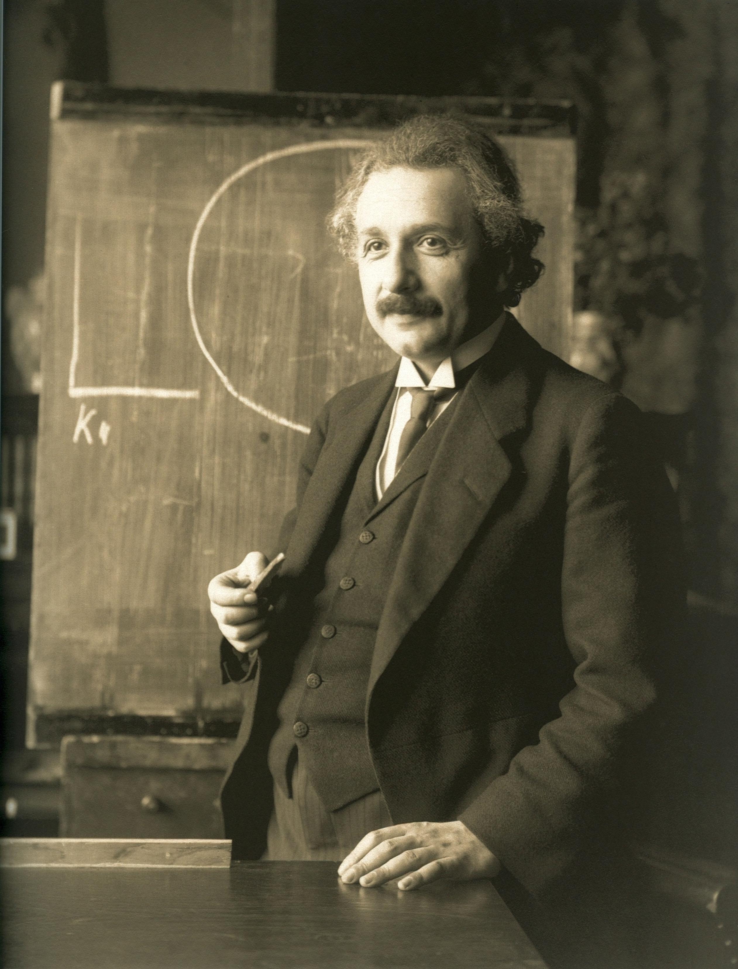 Einstein 1921 by F Schmutzer restoration