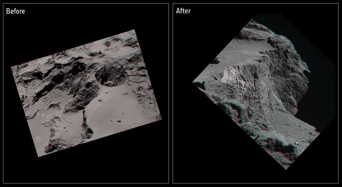 2Comet cliff collapse in 3D node full image 2