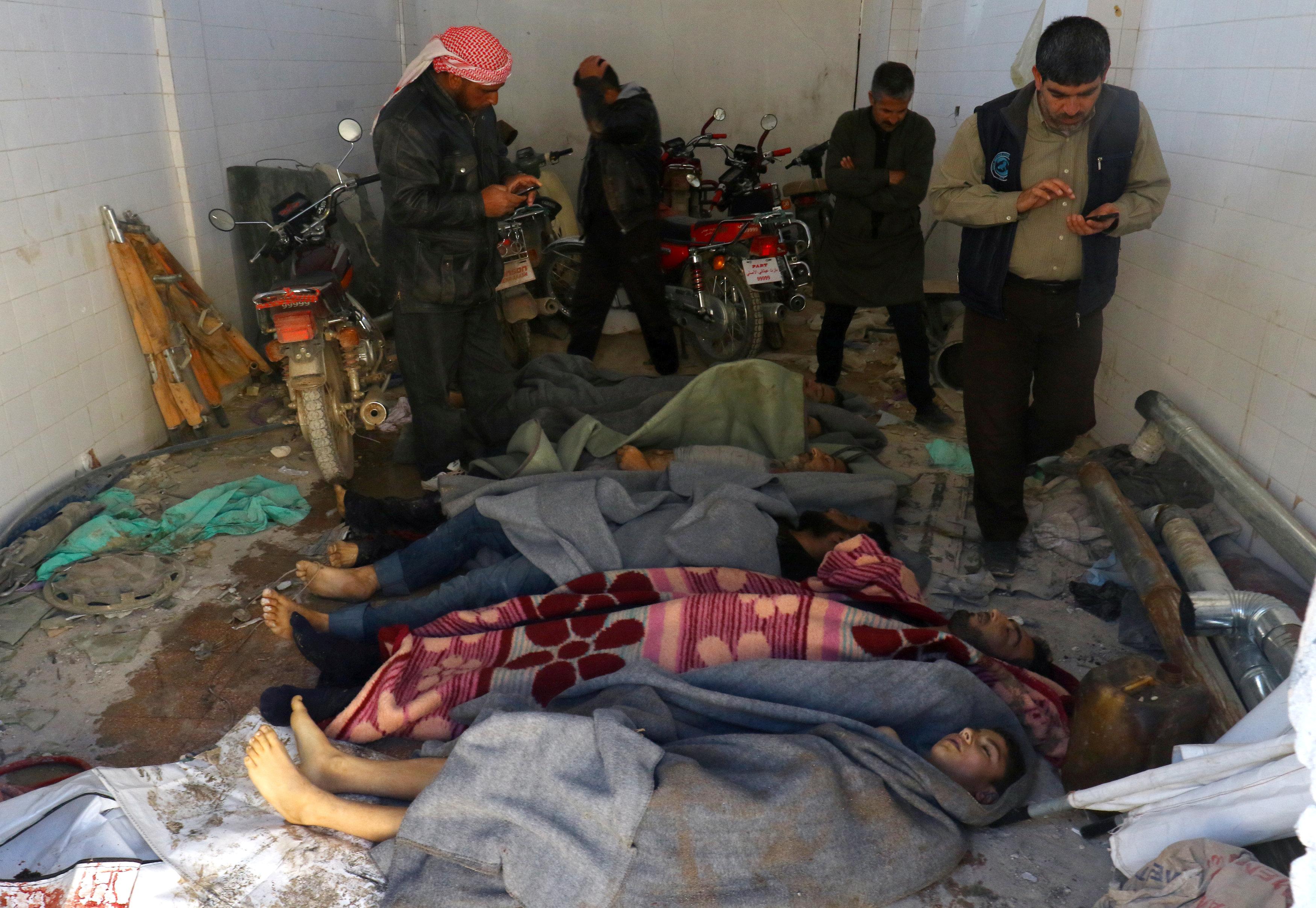2017 04 04T092855Z 1033274443 RC137F5F6C20 RTRMADP 3 MIDEAST CRISIS SYRIA IDLIB