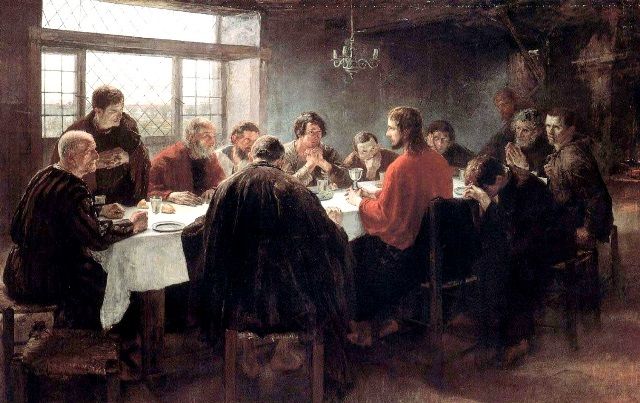 1The Last Supper Fritz von Uhde