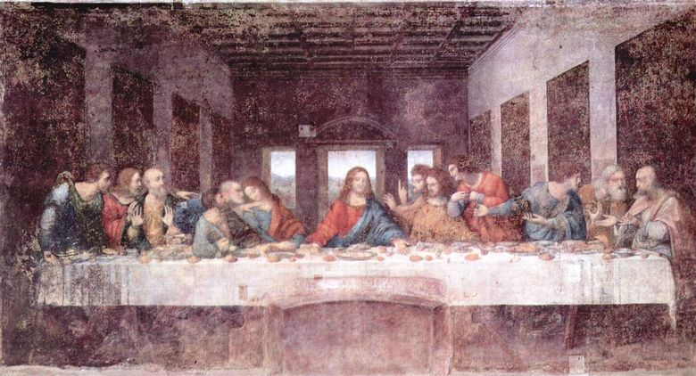 the last supper Da Vinci