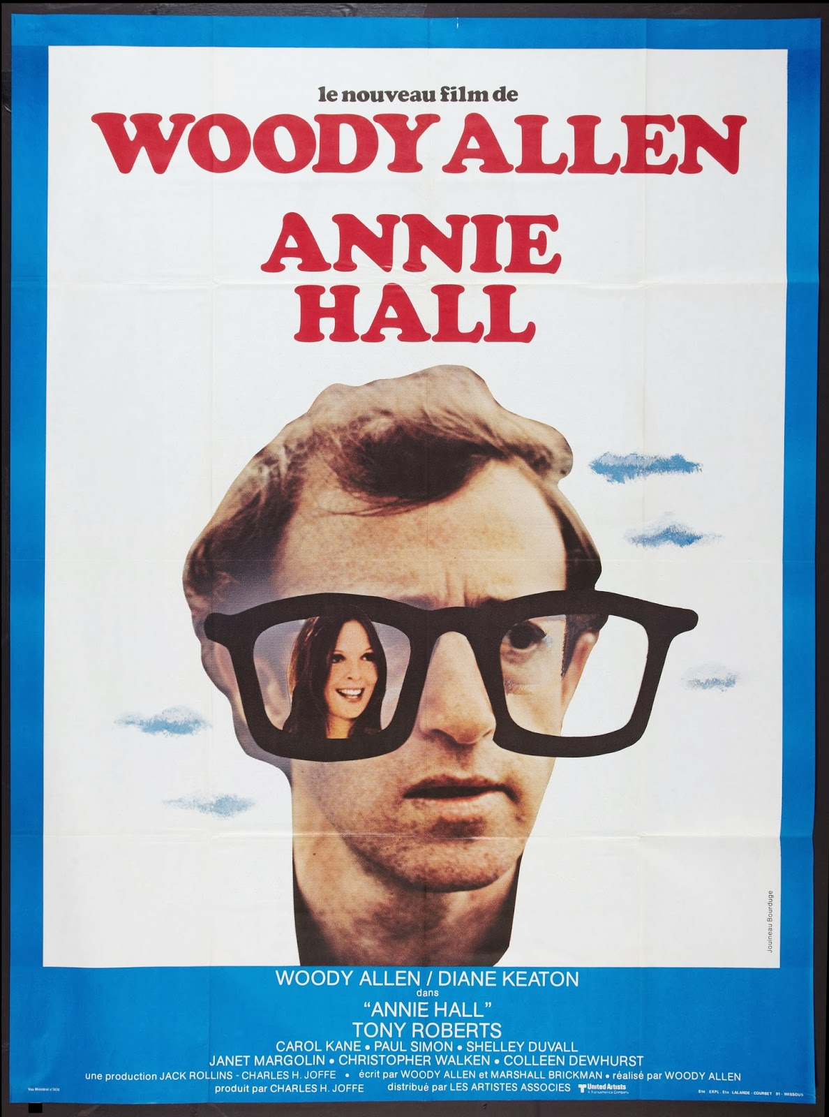 ANNIE HALL French Poster by Jouineau Bourduge