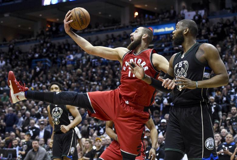 2017 04 21T030924Z 1425433787 NOCID RTRMADP 3 NBA PLAYOFFS TORONTO RAPTORS AT MILWAUKEE BUCKS