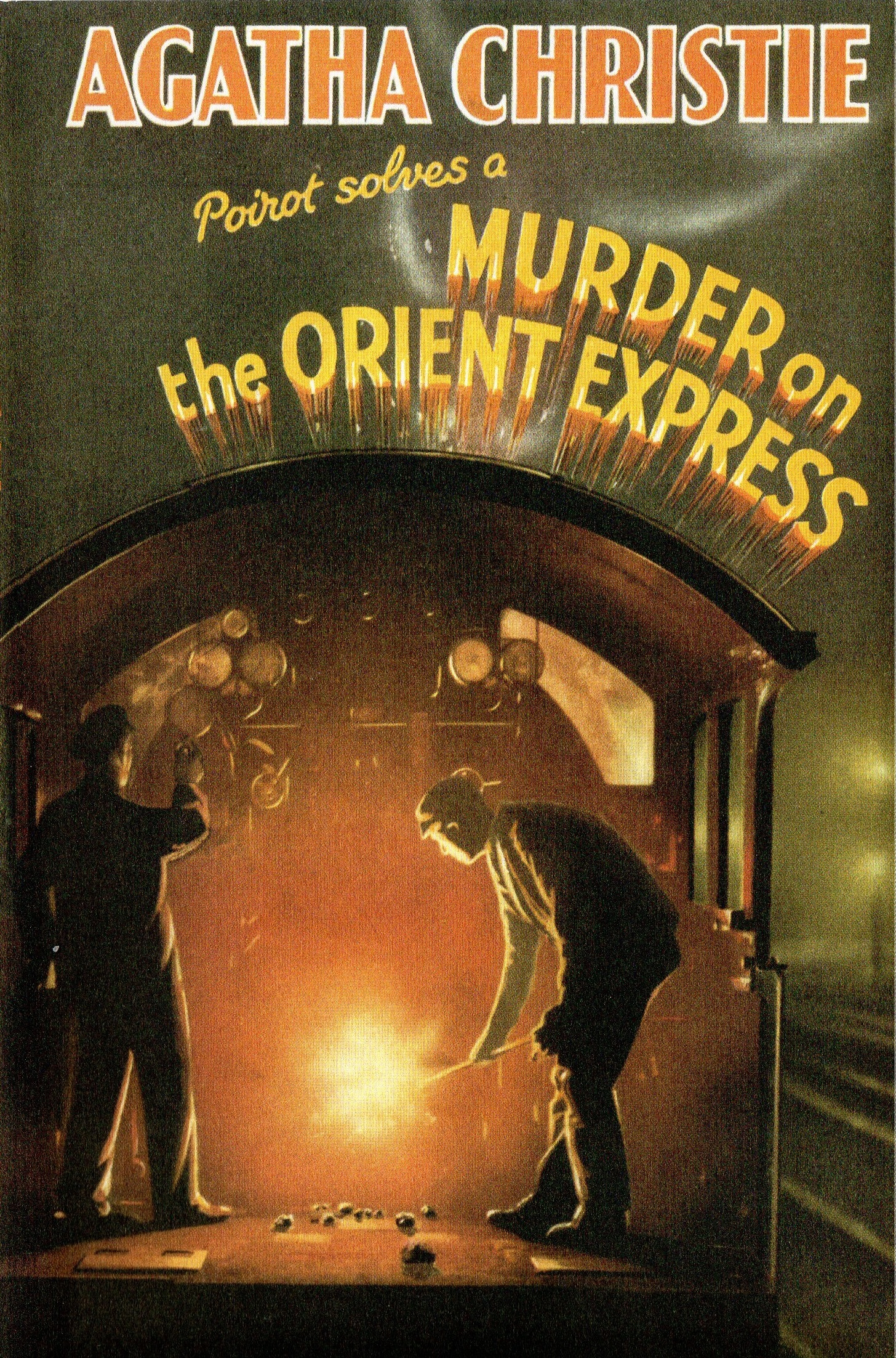 murder on the orient express first edition cover 1934