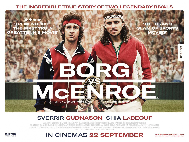 Borg McEnroe Banner Poster