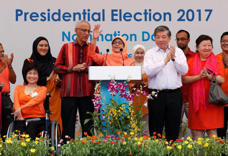 2017 09 13T044920Z 267550466 RC1362545E00 RTRMADP 3 SINGAPORE ELECTION