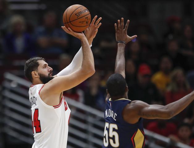 2017 10 08T235247Z 2016927067 NOCID RTRMADP 3 NBA PRESEASON NEW ORLEANS PELICANS AT CHICAGO BULLS