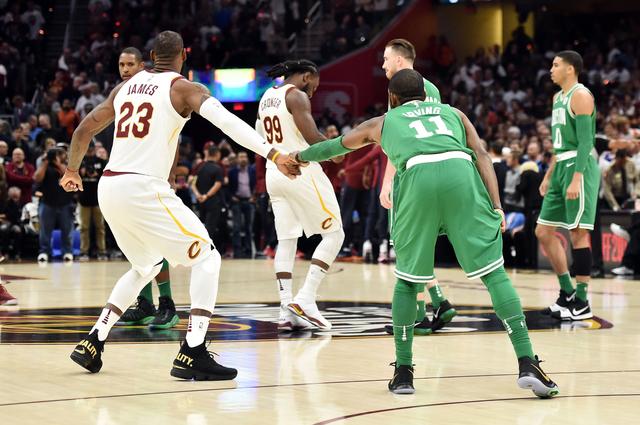 2017 10 18T011018Z 481173103 NOCID RTRMADP 3 NBA BOSTON CELTICS AT CLEVELAND CAVALIERS