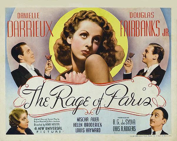 The Rage of Paris Poster