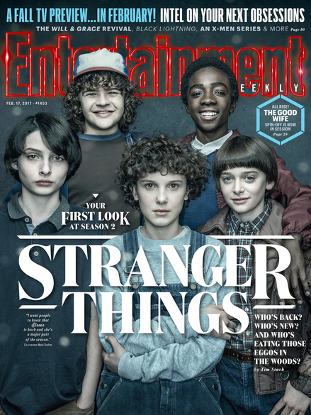 stranger things magazine