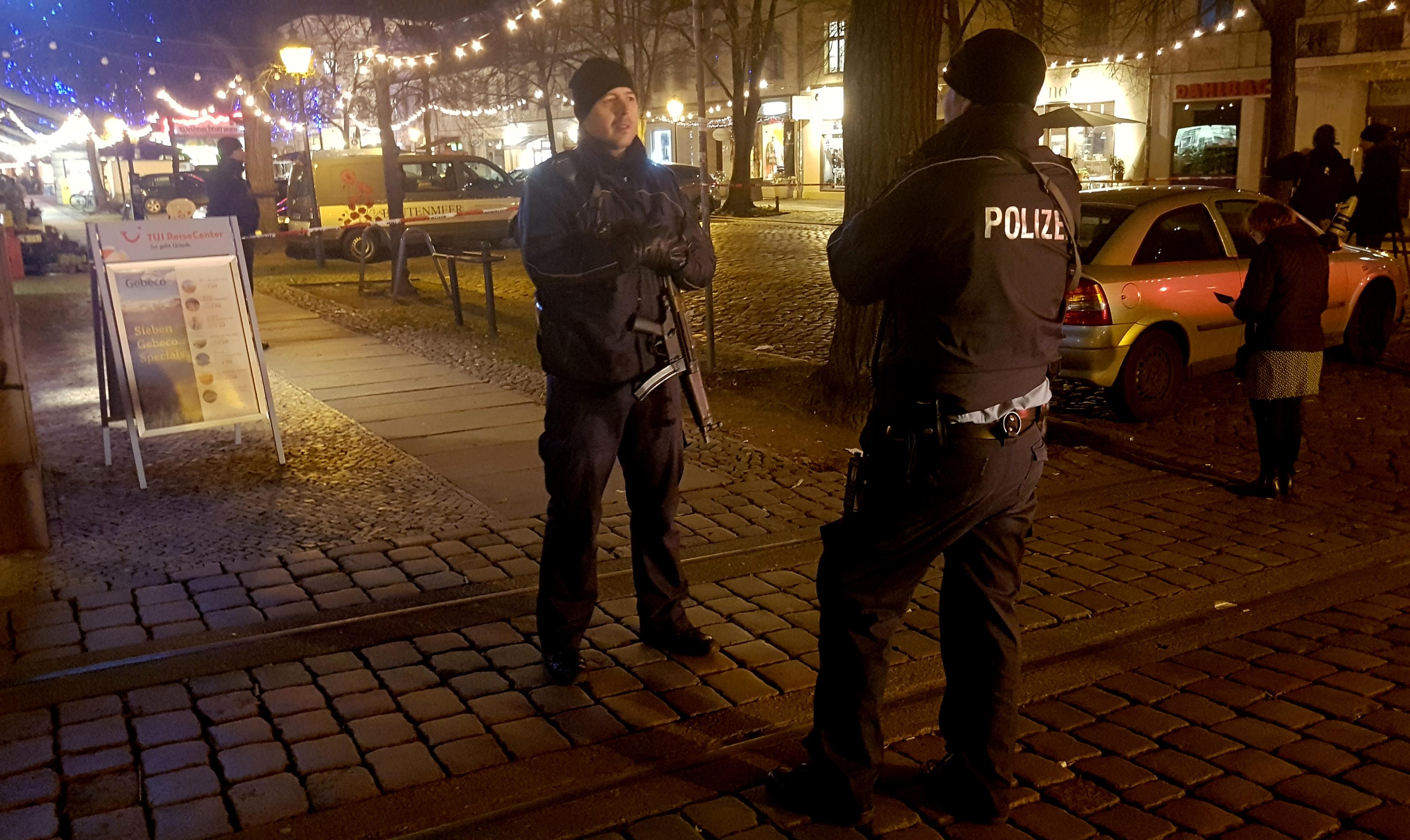 2017 12 01T164433Z 376584486 RC1ED04886F0 RTRMADP 3 GERMANY SECURITY POTSDAM