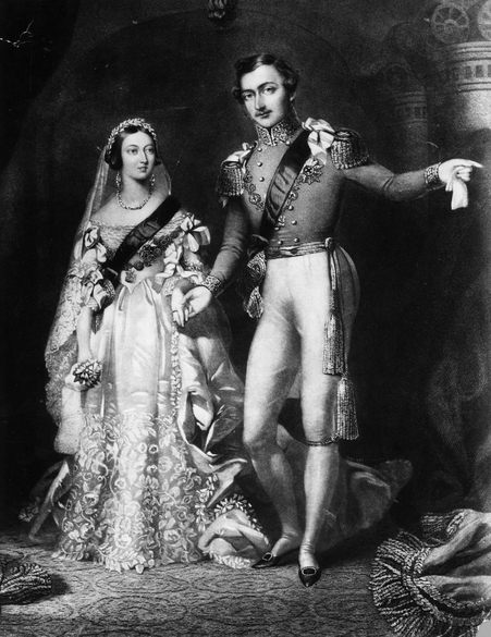 Wedding of Queen Victoria and Prince Albert