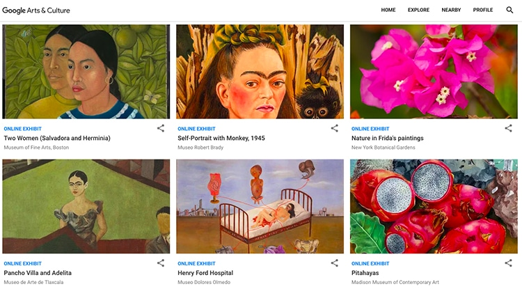 faces of frida google arts and culture 2