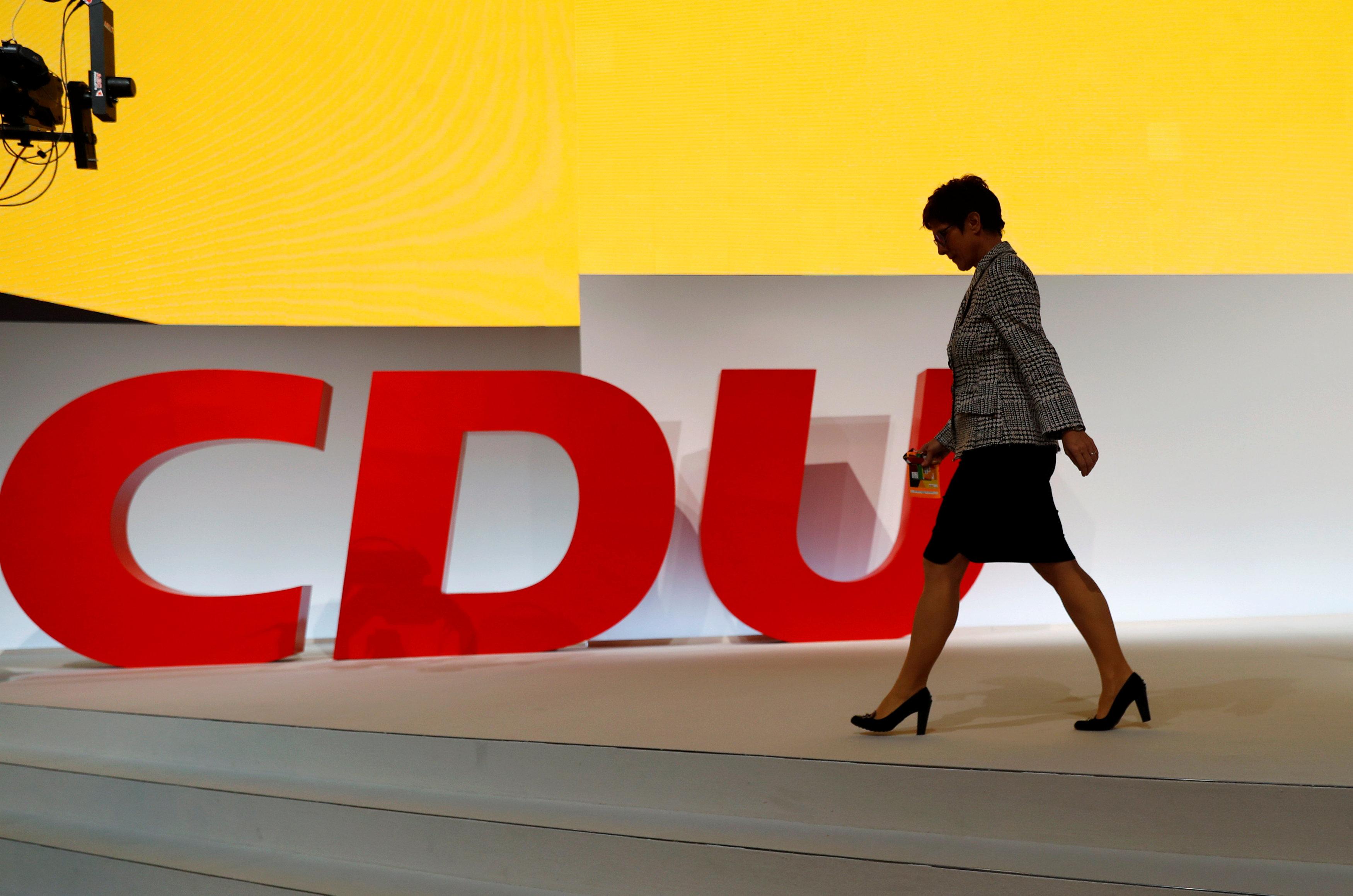 2018 12 07T092123Z 573772091 RC1E90527130 RTRMADP 3 GERMANY POLITICS CDU