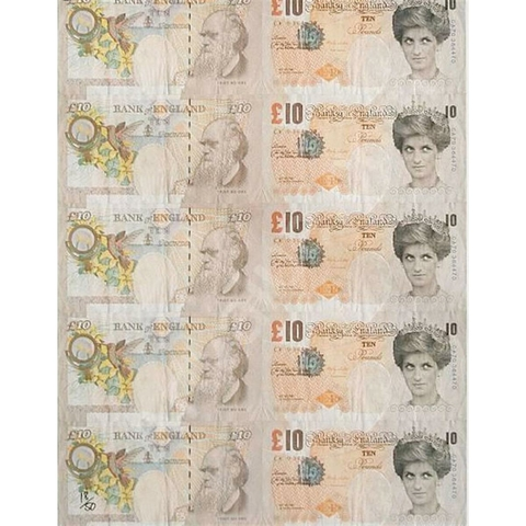 banksy di faced tenner