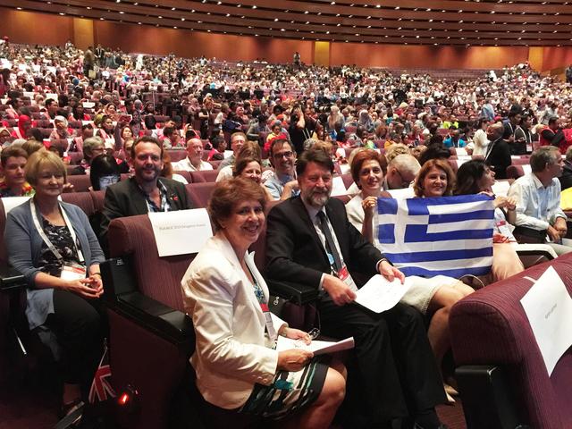 2 Ανακοίνωση της ανάληψης του συνεδρίου από την Ελλάδα Συνέδριο IFLA 2018 Κουάλα Λουμπούρ 29 08 18