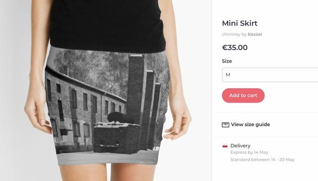Auschwiz mini skirt