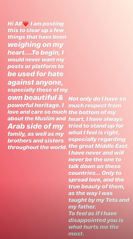 Bella Hadid Instagram signomi 0