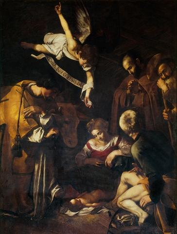 Caravaggio Nativity1600