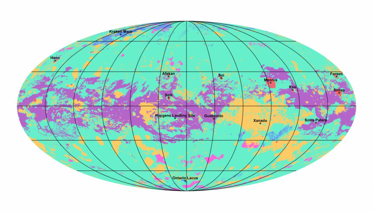 ΧάρτηςΤιτάναΠηγήNASA JPL CalTech ASU