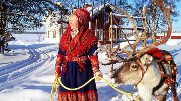 http cdn.cnn.com cnnnext dam assets 191216180813 woman and reindeer