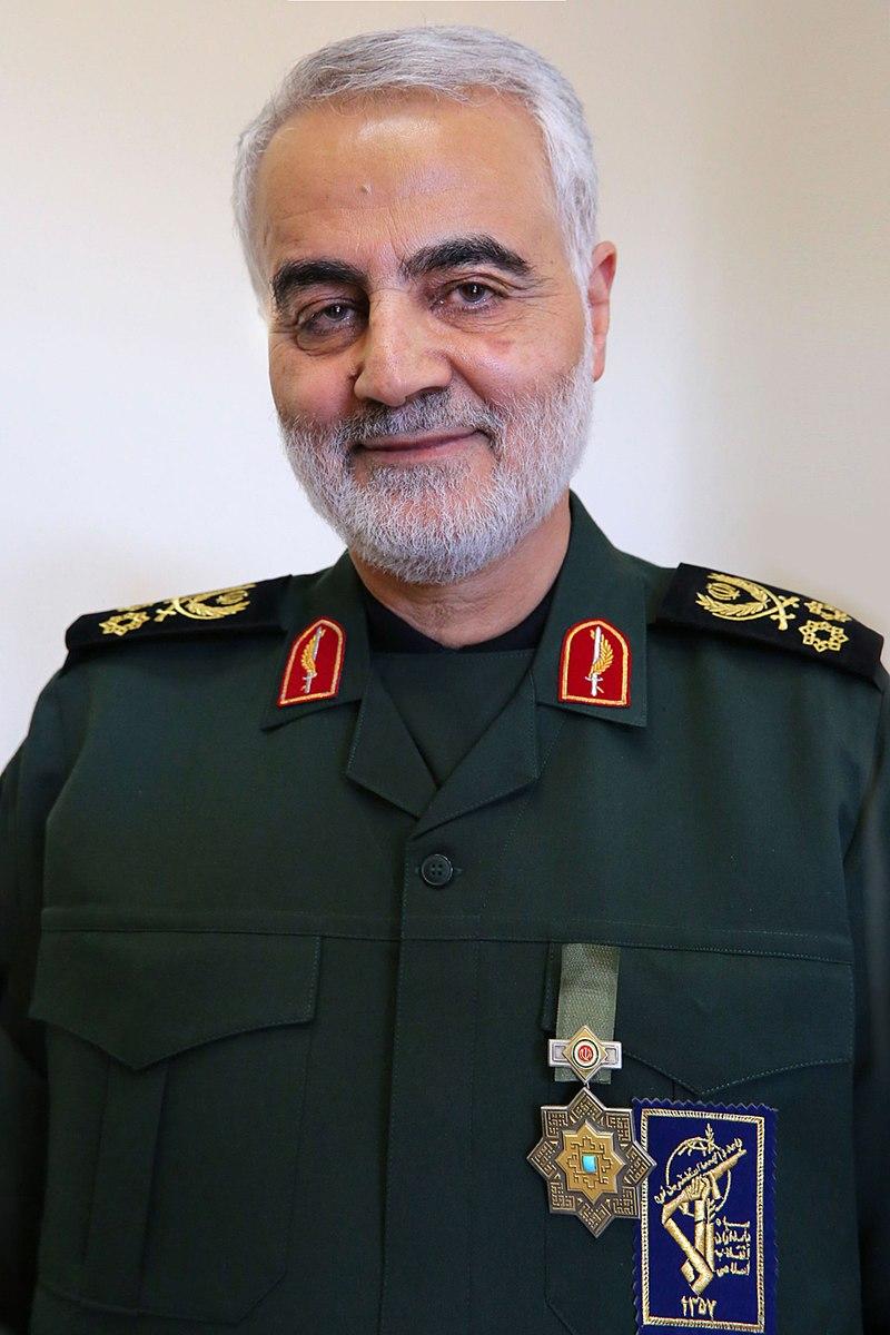 800px Qasem Soleimani with Zolfaghar Order