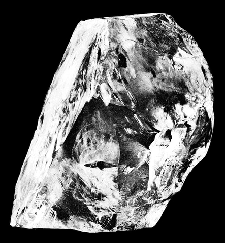 Rough cullinan diamond