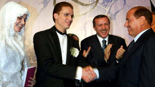O γιός του Ερντογάν μετακόμισε στην Ιταλία