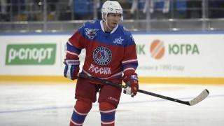 Παίζοντας χόκεϊ επί πάγου γιόρτασε ο Ρώσος πρόεδρος τα γενέθλιά του