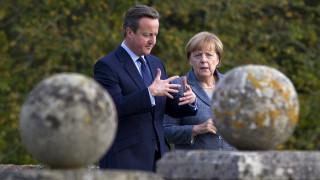 BREXIT, μεταναστευτικό και Συρία συζήτησαν Μέρκελ-Κάμερον