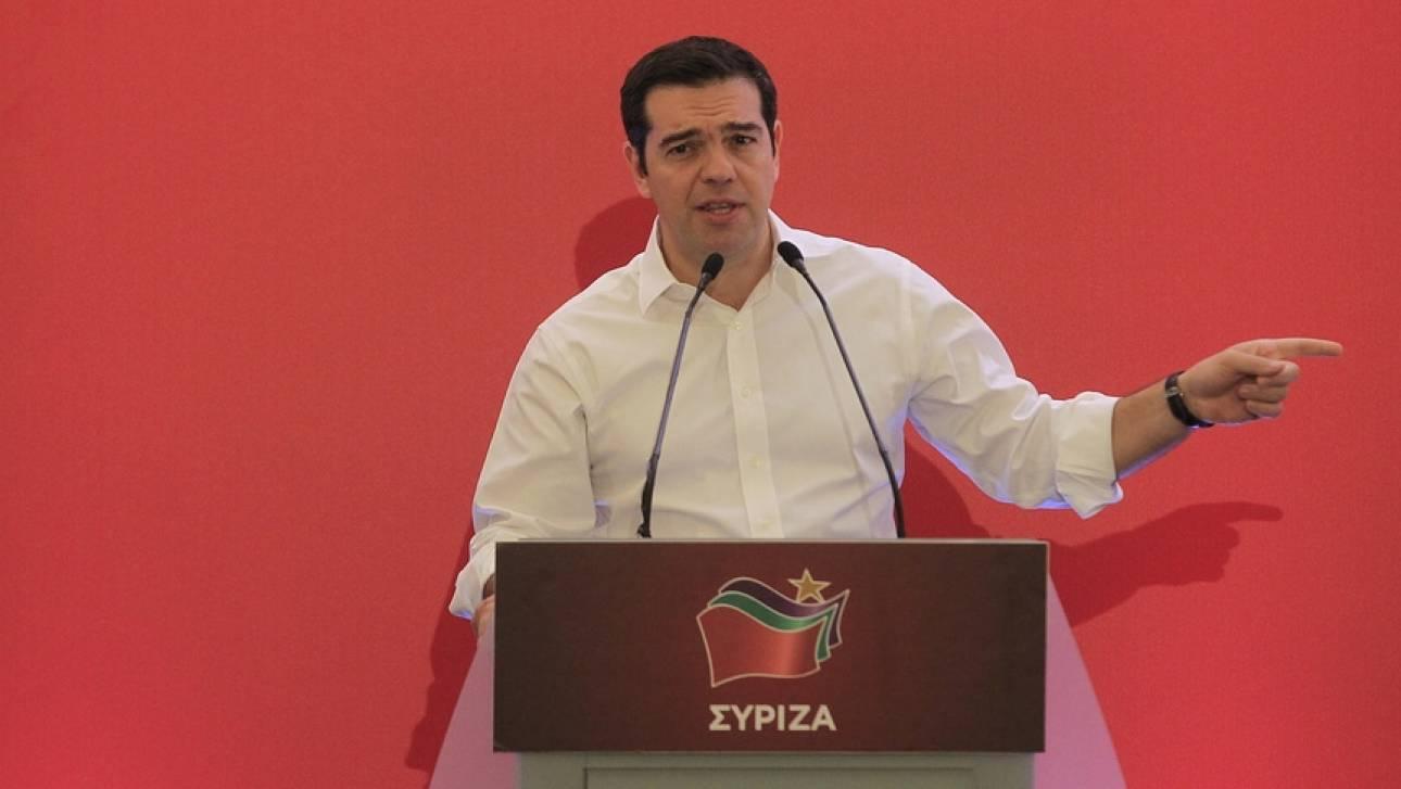 Τσίπρας στην Κ.Ε: Η περίοδος του κόμματος μέσα στο κόμμα έληξε οριστικά