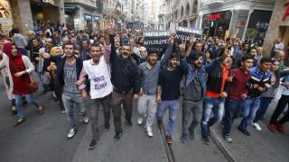 Στους δρόμους όλης της Ευρώπης για το μακελειό στην Άγκυρα
