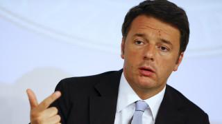 Ρέντσι: Ψυχολογικά υποτελής η Ιταλία στους ευρωκράτες