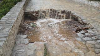 «Μη αναμενόμενη η ένταση της νεροποντής», λέει ο δήμαρχος Ύδρας