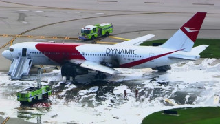Φωτιά προ της απογείωσης για Boeing 767 της Dynamic στη Φλόριντα