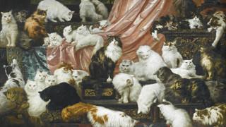 Για 760.532 ευρώ δημοπρατήθηκε ο μεγαλύτερος πίνακας με γάτες